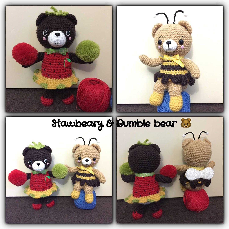Crochet Toy Bear