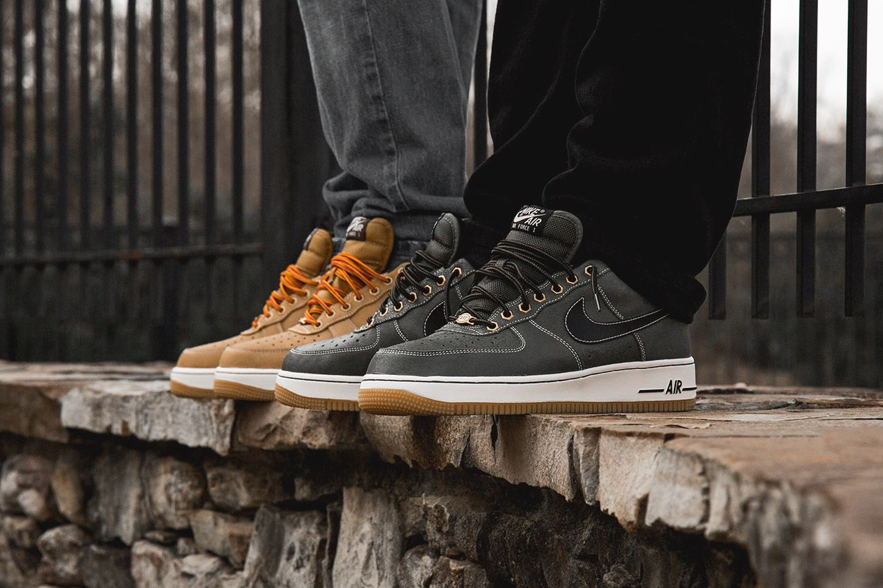 buy online ada6b fd2a5 nike air force 1 low wheat work boot