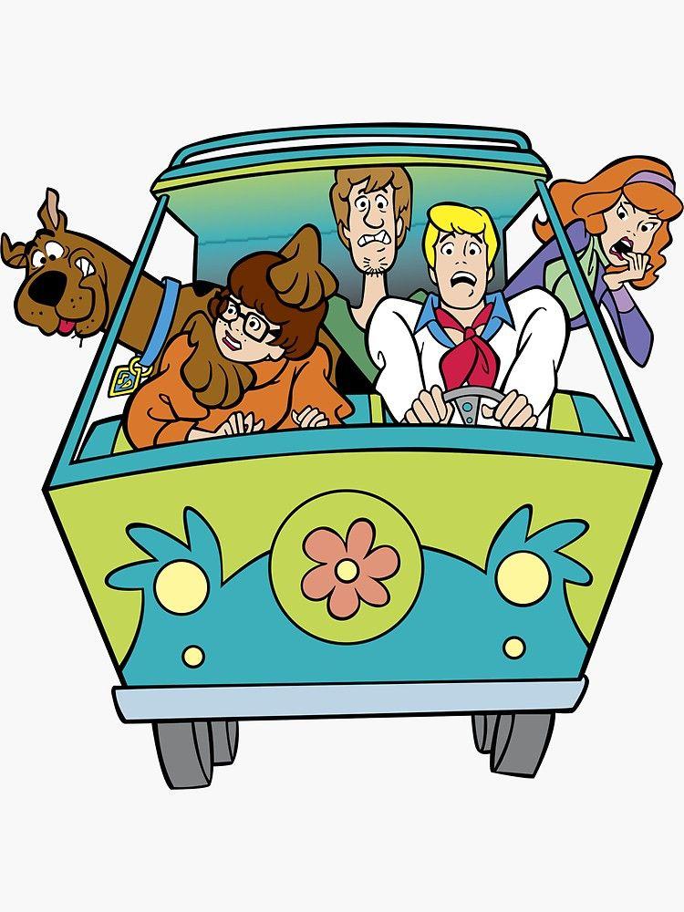 Scooby Doo Sticker By Shipsinparadise Affiliate Doo Scooby Shipsinparadise Sticker Ad Scooby Doo Images Scooby Doo Mystery Inc Cartoon