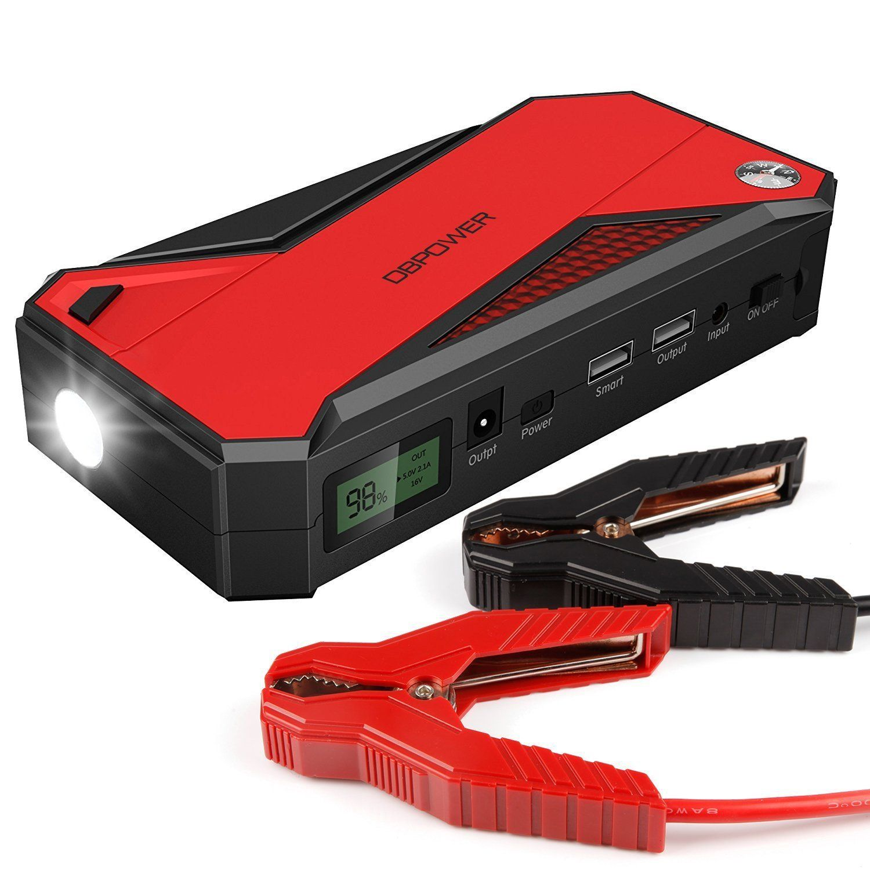 Portable Car Jump Starter >> Dbpower 600a 18000mah Portable Car Jump Starter Up To 6 5l