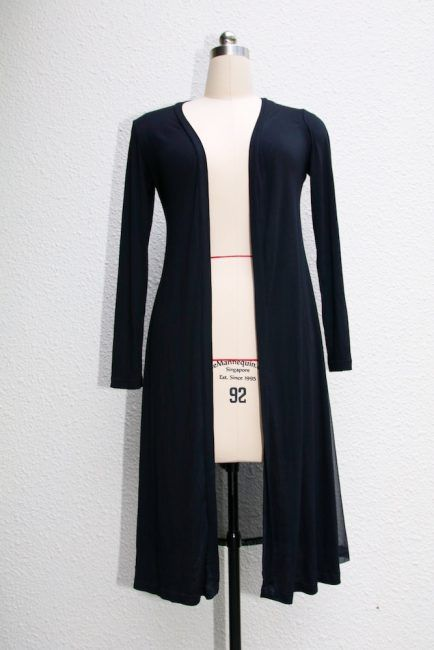 The easy long cardigan, a staple in your wardrobe | Bekleidung ...