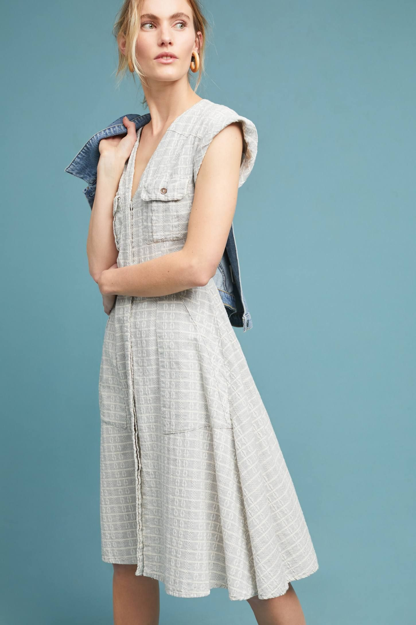 Spring is in the air and I need some light dresses! Windowpane ...