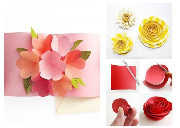 Подарок на 8 марта цветы своими руками фото 234