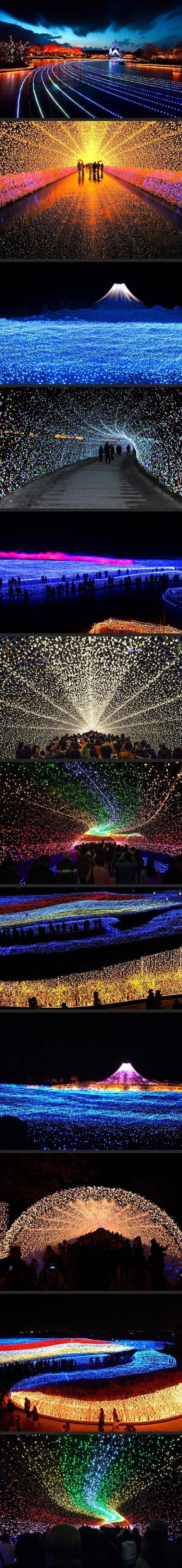 Japans Winter Lights Festival https://www.facebook.com/ouiliviamoraes https://www.liviamoraes.com.br