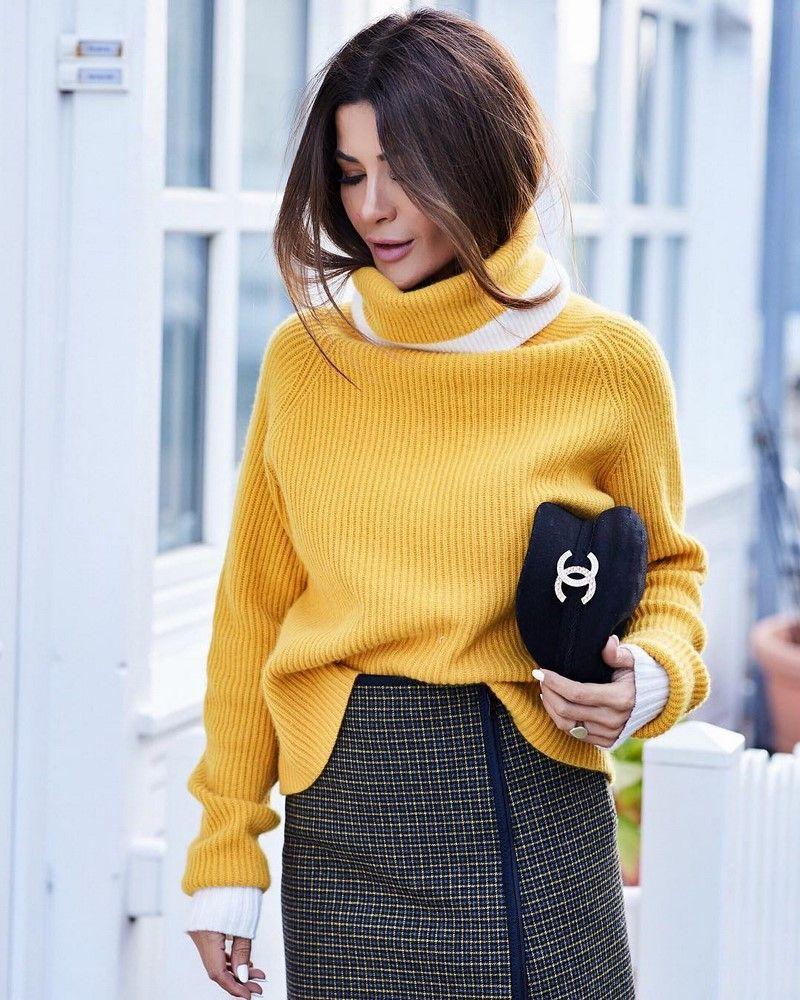 Смотреть Зимние платья-свитеры 2019-2020 видео