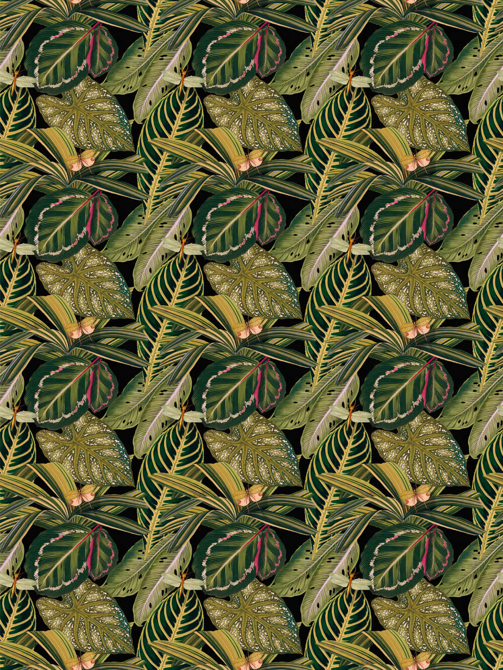 Amazonia by Mind the Gap Green Fabric Wallpaper