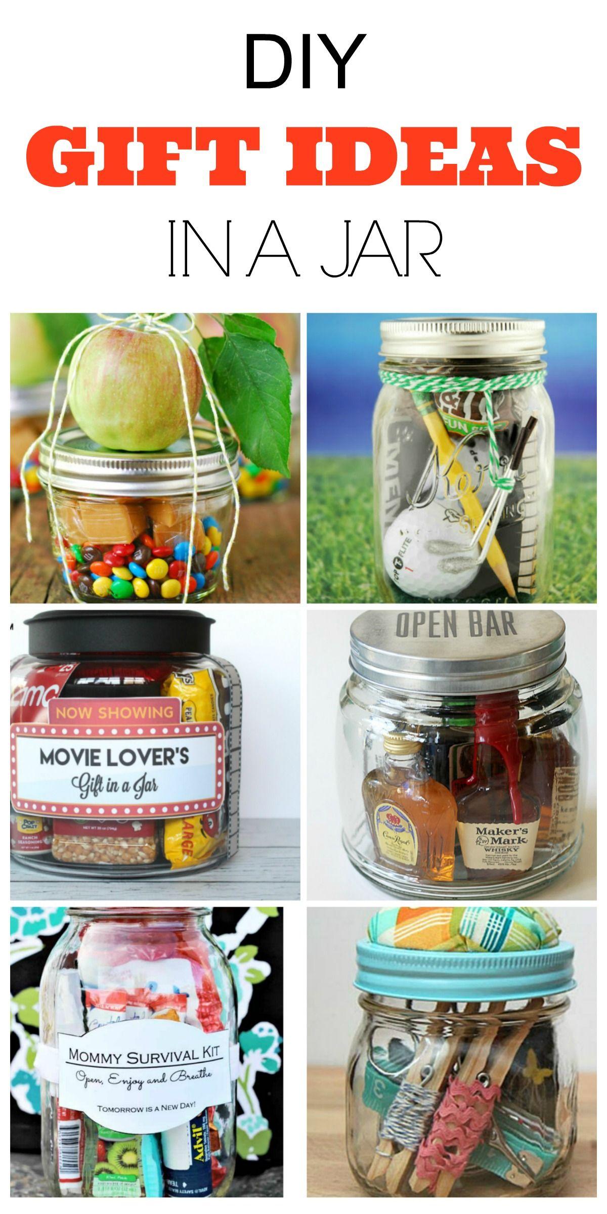 9 DIY Gifts Ideas In A Mason Jar | decoracion | Pinterest | DIY ...