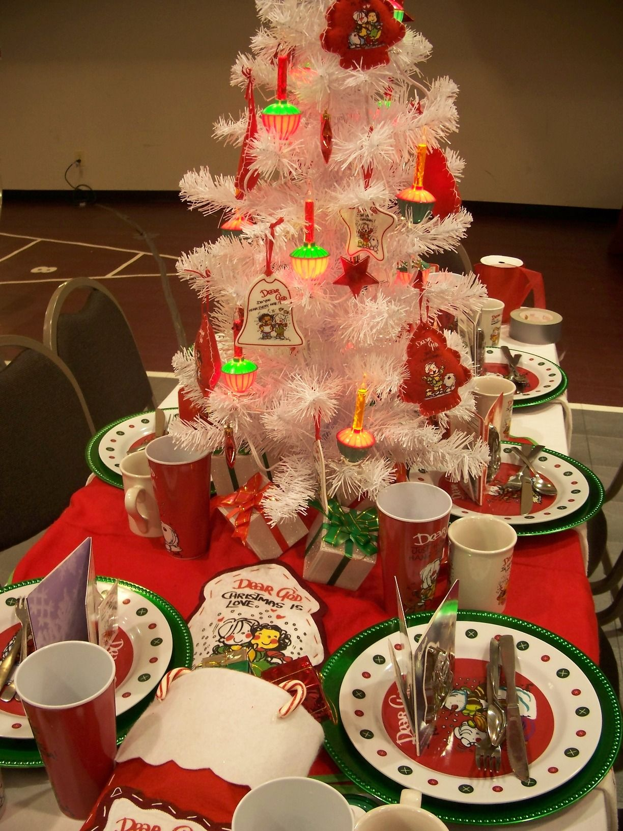 Ideas for christmas party decoration designs banquet