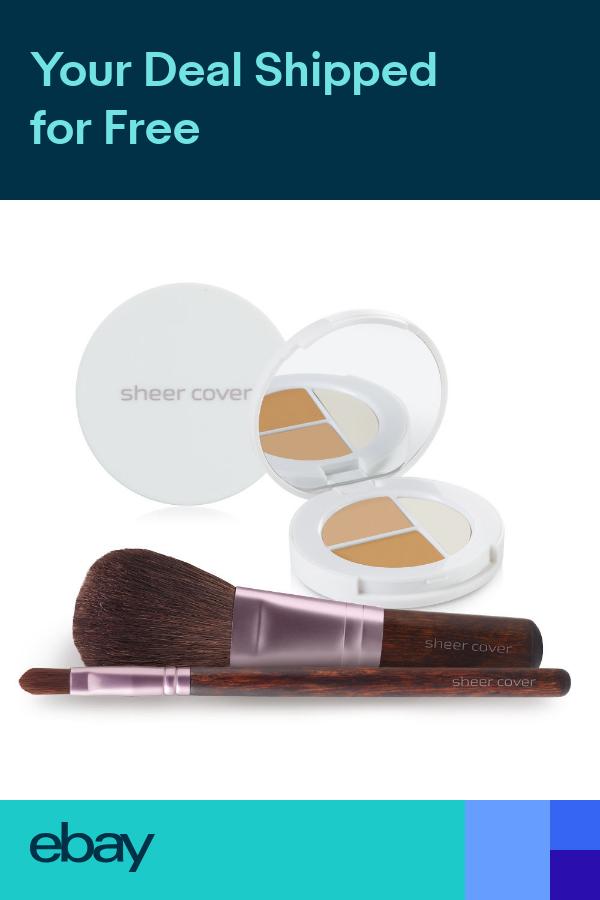 Sheer Cover Starter Face Kit Mineral Foundation