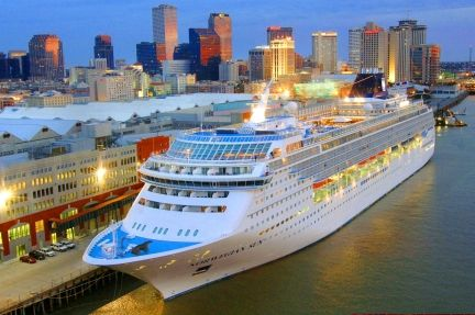 Carnival Cruise Ship Sail With It Out Of New Orleans Caribbean - New orleans cruise ship terminal