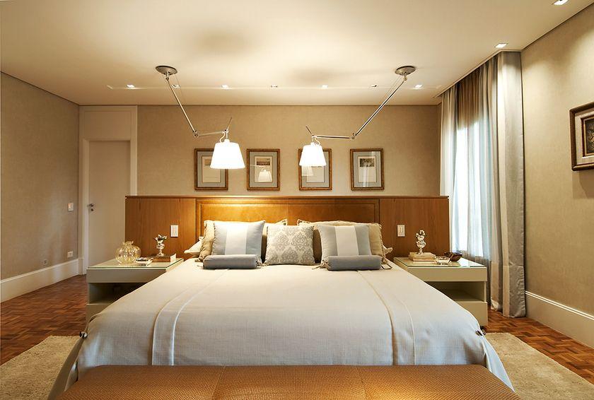 Quartos com cabeceiras Bedrooms, Quartos and Room ~ Quarto Casal Gesso