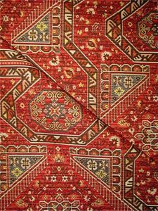 Brasington Russet   Traditional Chenille Rug Tapestry Fabric From Valdese  Weavers . U2013 Durable And Perfect