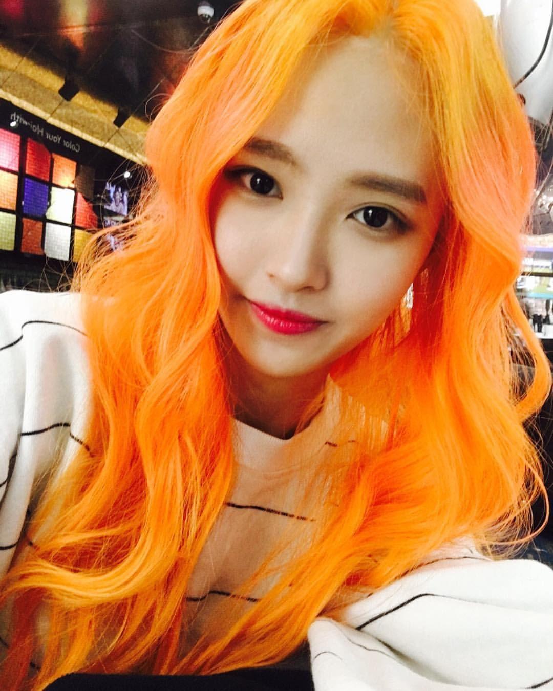 pin by congocutcut on colored hair ulzzang girl