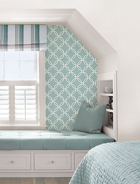 Blue Links Peel And Stick Wallpaper Wallpaper Bedroom Feature Wall Peel And Stick Wallpaper Home