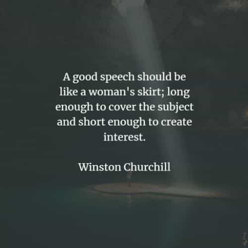 80 Famous quotes and sayings by Winston Churchill