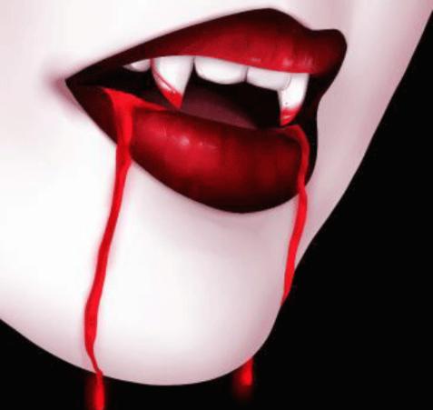How To Draw Vampire Teeth Vampire Tattoo Vampire Drawings Vampire Art