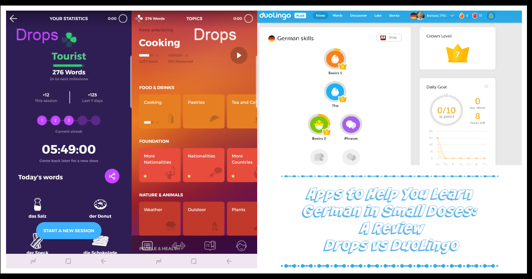 Apps to Help You Learn German in Small Doses A Review