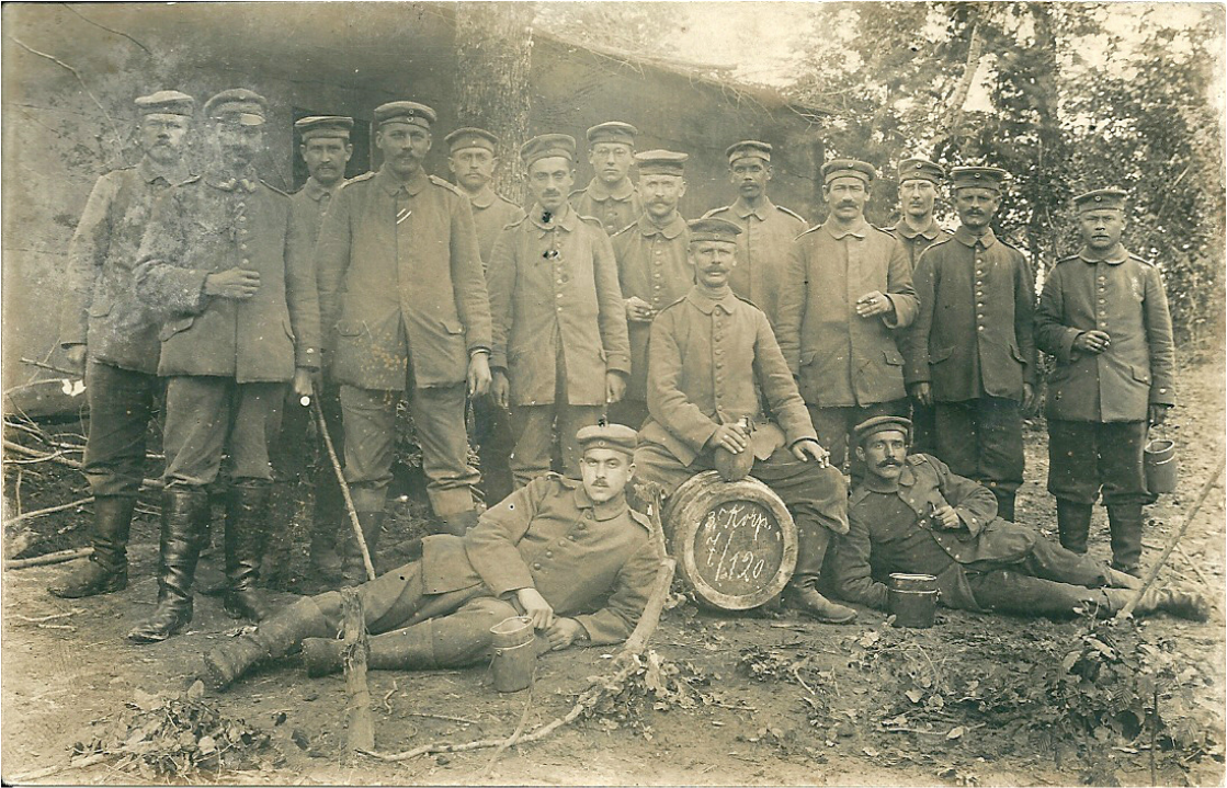Young German soldiers, 20th of July 1916