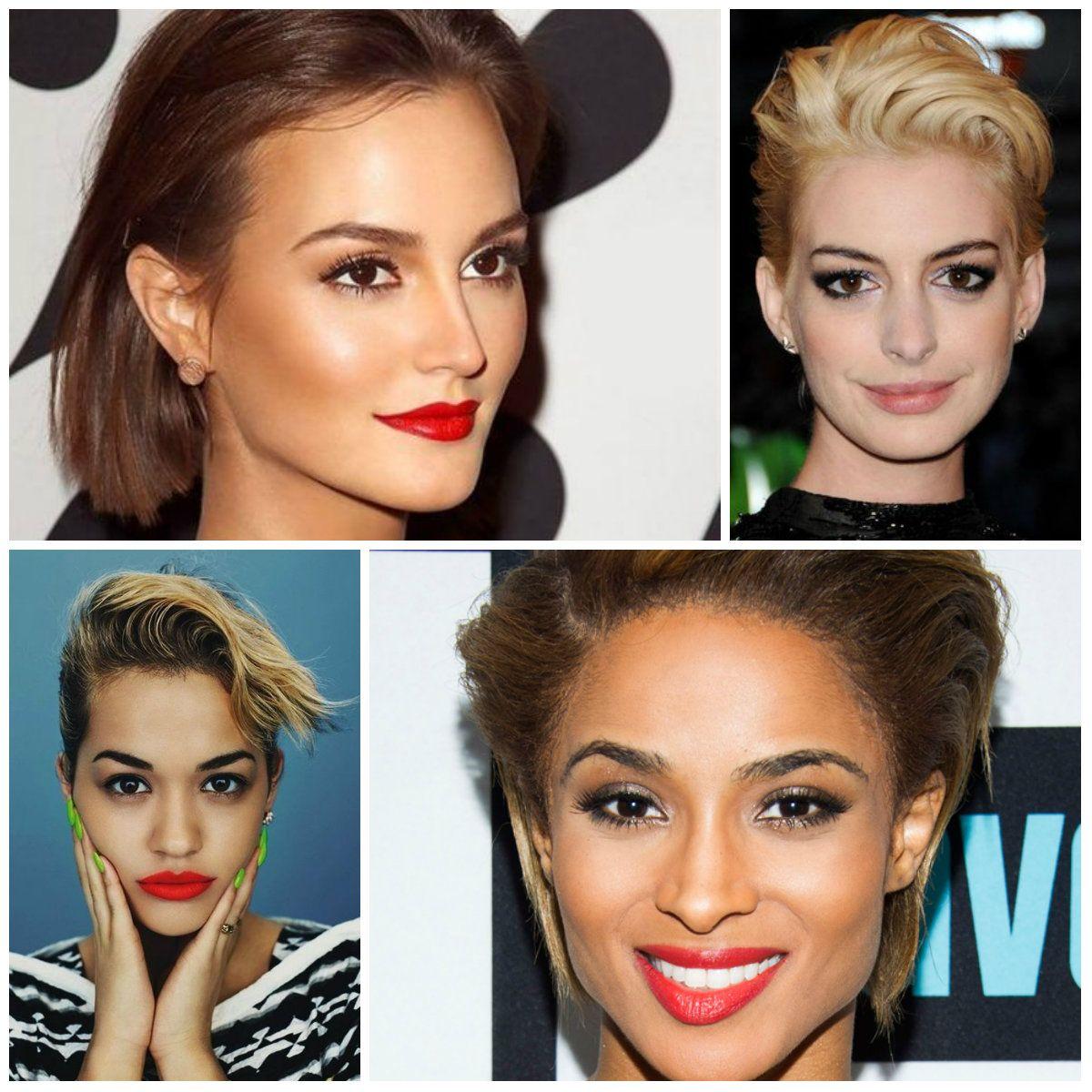 Short Slicked Back Hairstyles 2017 Hair Pinterest Short Cuts