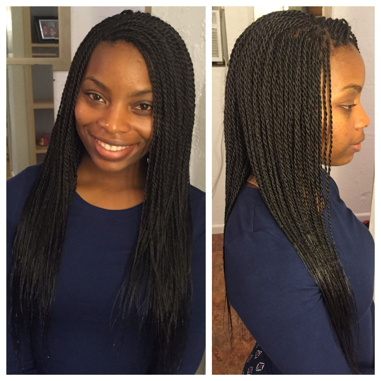 Small Senegalese twists using Bobbi boss hair  Braids in