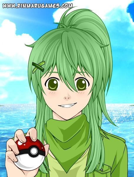 Pokemon Oc Jesse Winters (Jade's Twin sister)