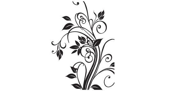 Floral free vector art floral vector graphics pinterest free floral free vector art mightylinksfo