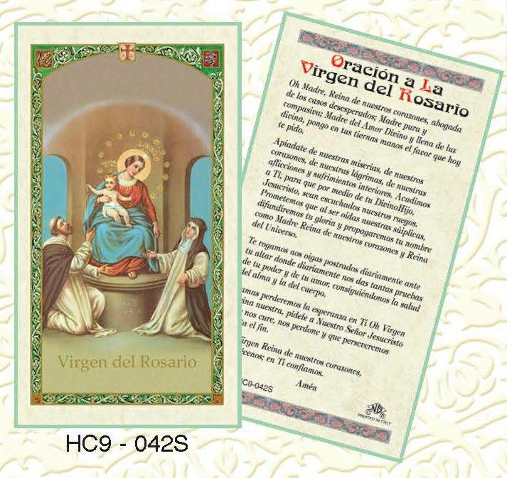 Oracion a la Virgen del Rosario