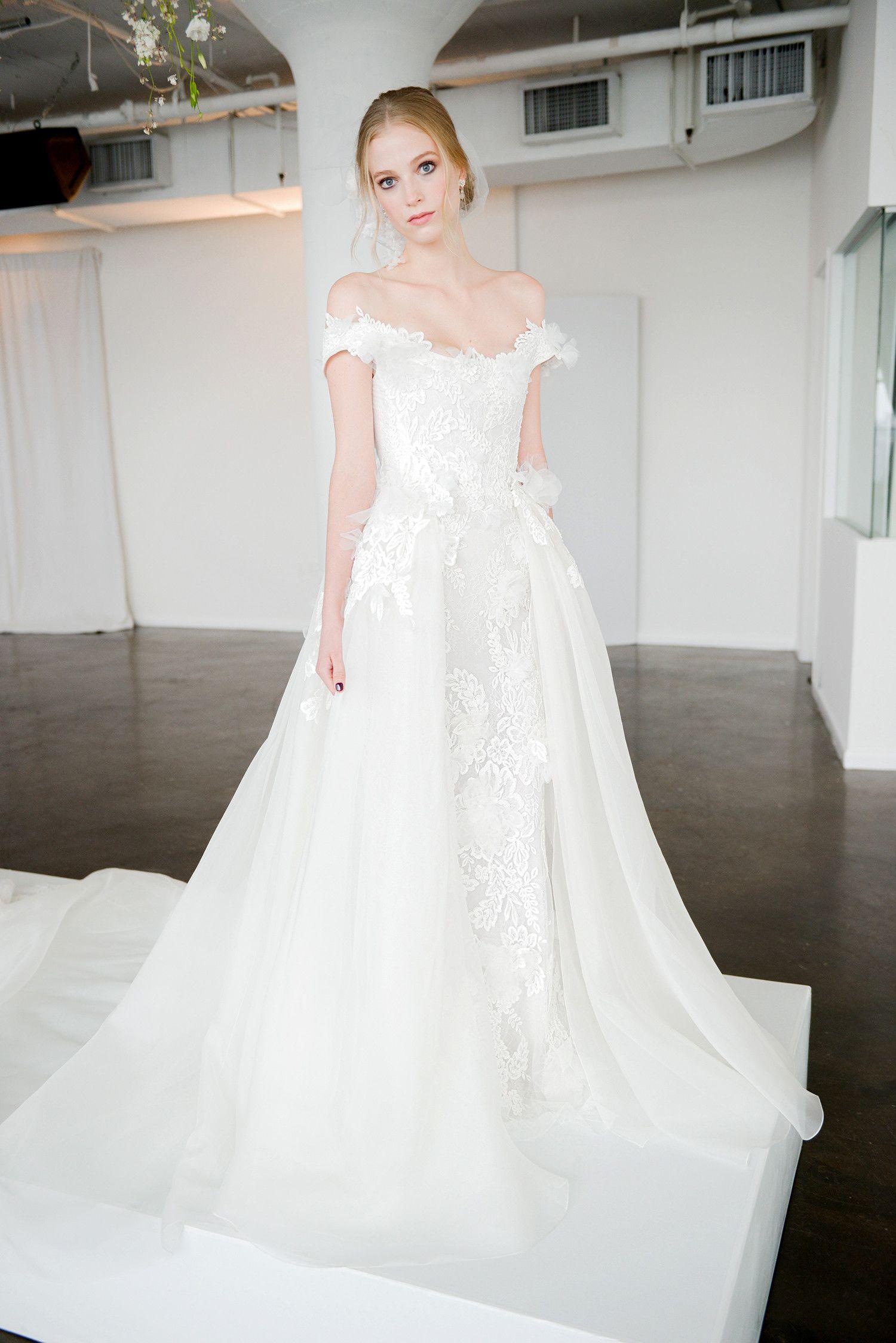 Marchesa Fall 2018 Wedding Dress Collection Marchesa Bridal
