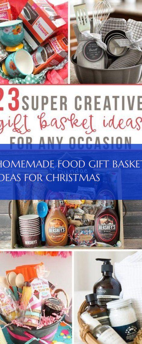 Hausgemachtes Essen Geschenkkorb Ideen Für Weihnachten