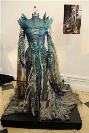 Evil queen's dress from Snow White & the Hunstman