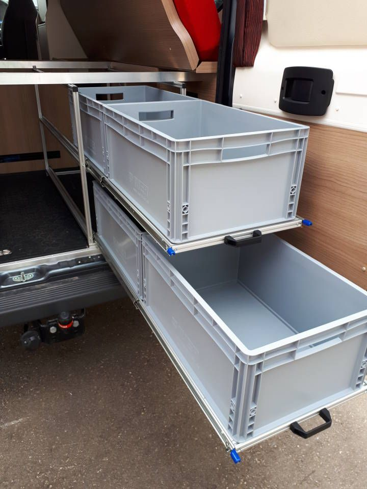Photo of RG rack construction for motorhomes