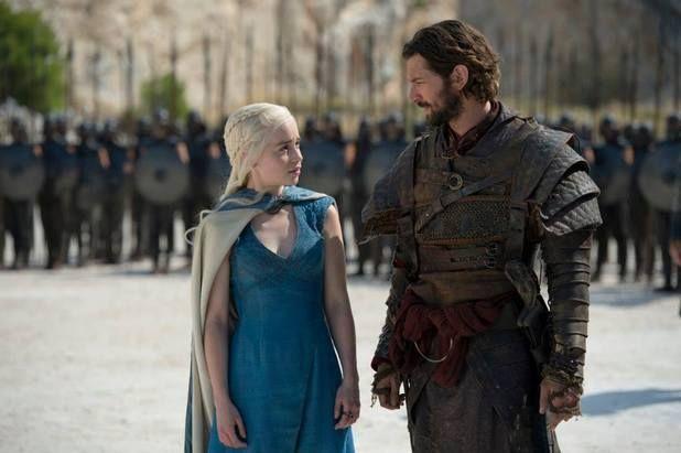 daenerys targaryen and daario naharis game of thrones