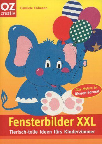 Fensterbilder xxl tierisch tolle ideen f rs kinderzimmer for Fensterbilder kinderzimmer