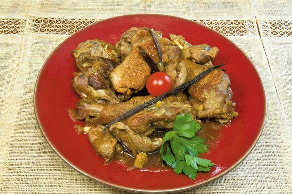 Canard la vanille bourbon cuisine sal e pinterest cuisine reunionnaise recette et - Cuisine reunionnaise recette ...