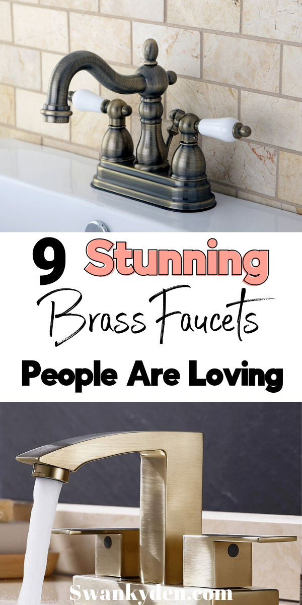 Photo of Brass Bathroom Faucets That People Are Addicted to – SwankyDen.com
