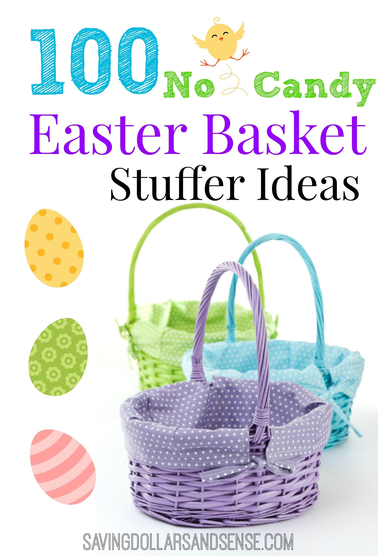 Easter basket stuffer ideas easter baskets easter and holidays easter basket stuffer ideas negle Images