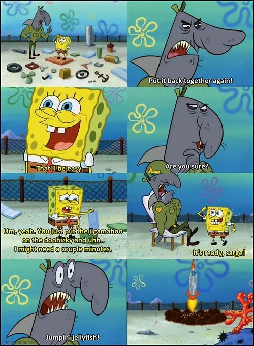 Spongebob Funny Moments Youll Probably See A Lot Of Spongebob
