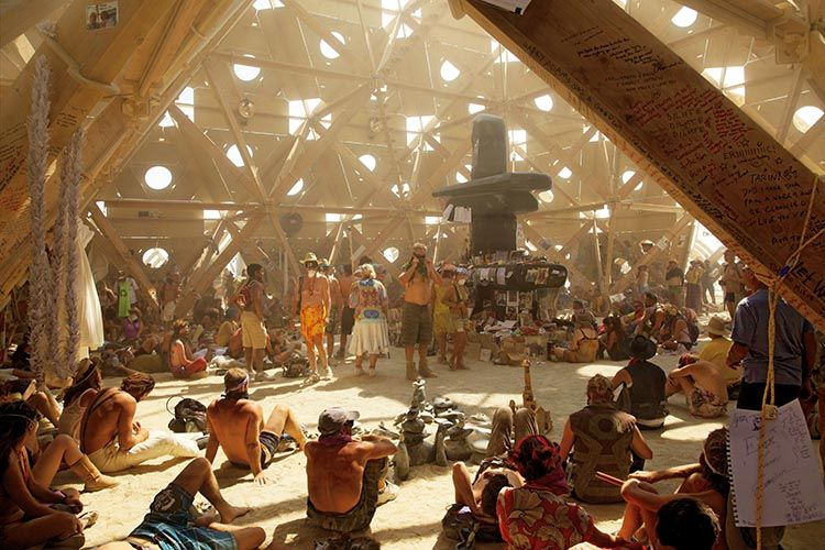 Burning Man Festival. Foto: NK Guy. Taschen. Del libro Art of Burning Man