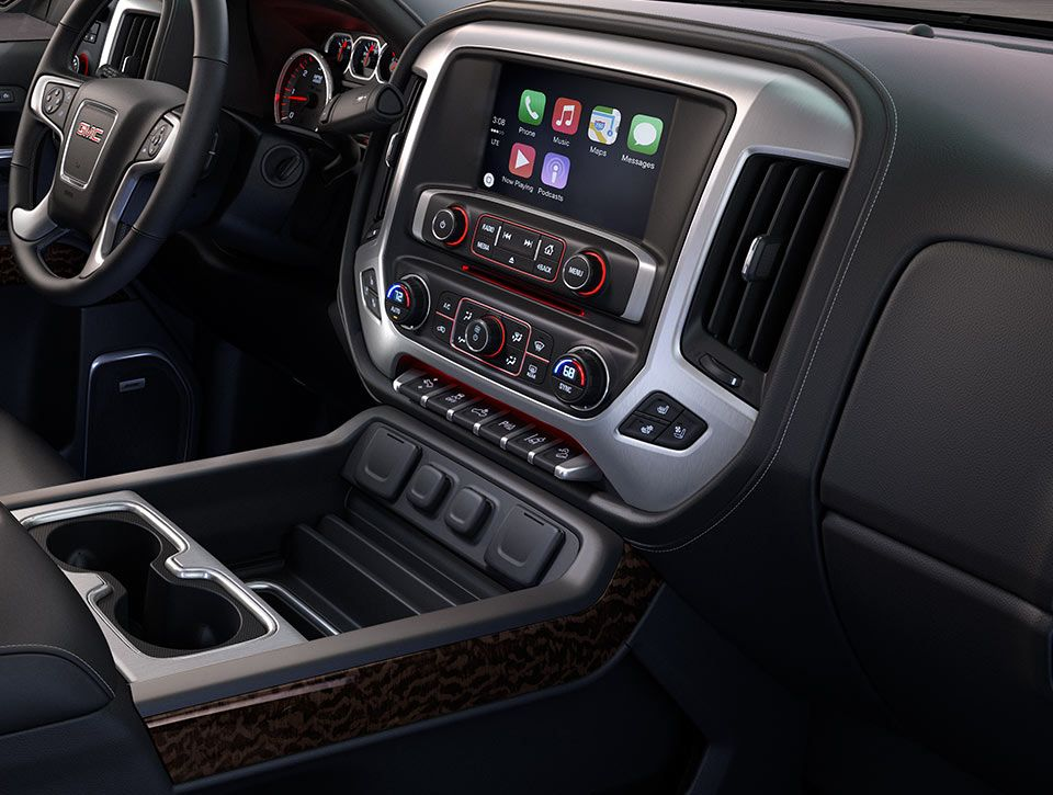 Sync Phones To The Gmc Sierra 2500hd With Apple Carplay Gmc