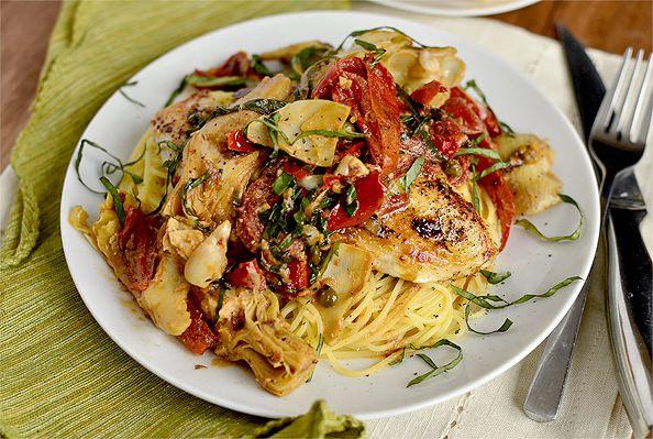 Mediterranean Smothered Chicken Recipe Chicken Recipes Food
