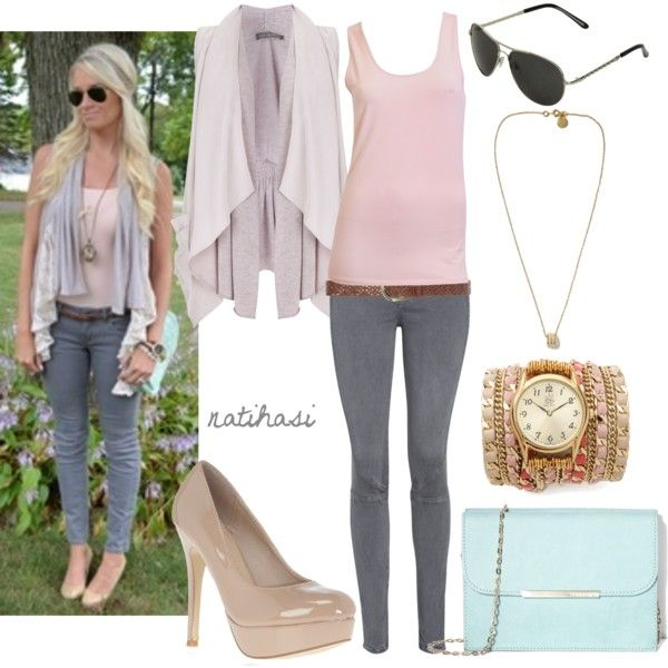 Cute outfits with skinny jeans for summer