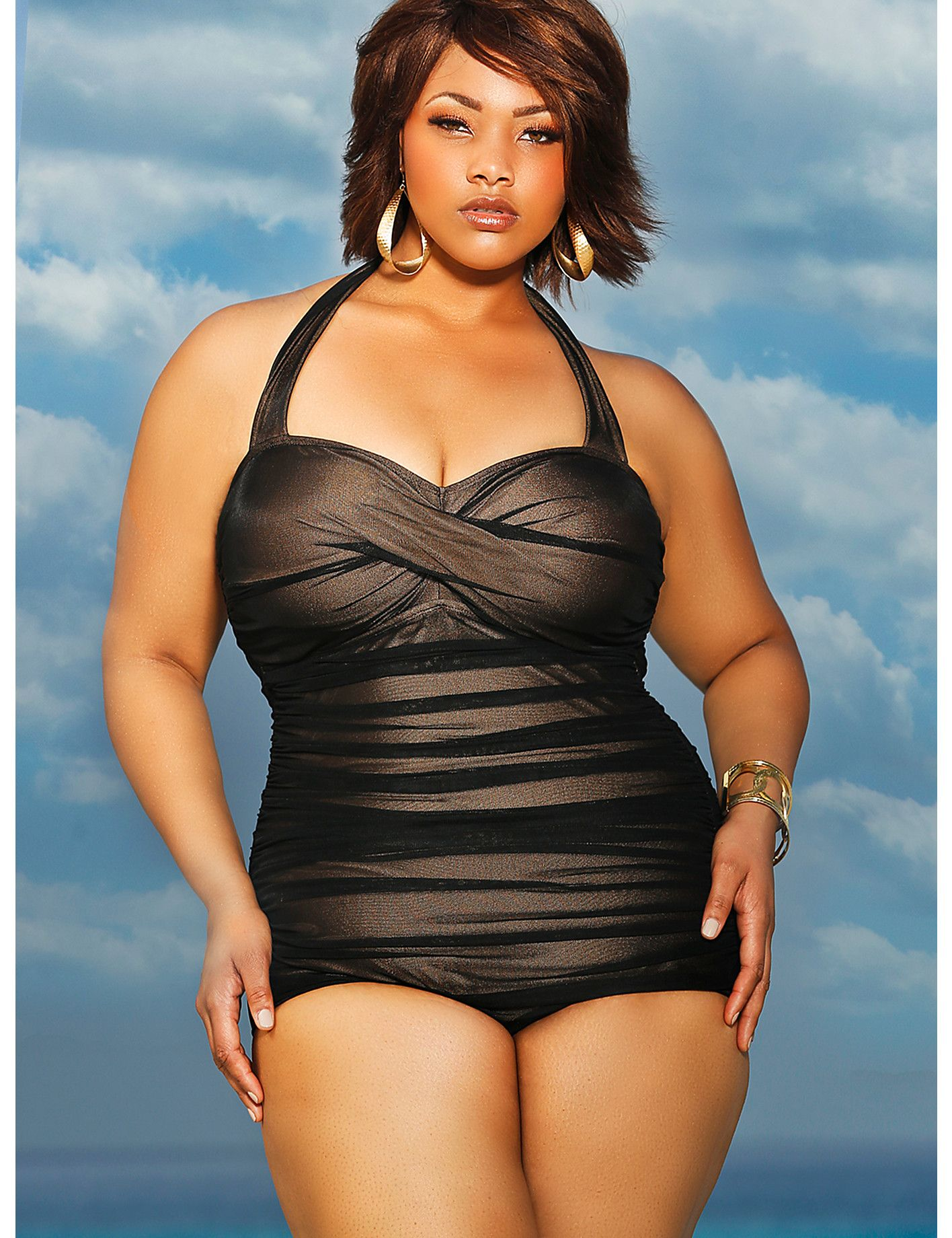 c85ba9bc49 The Ultimate Plus Size Swimwear Guide: 40+ Swimsuits and Bikinis to Strut  in…