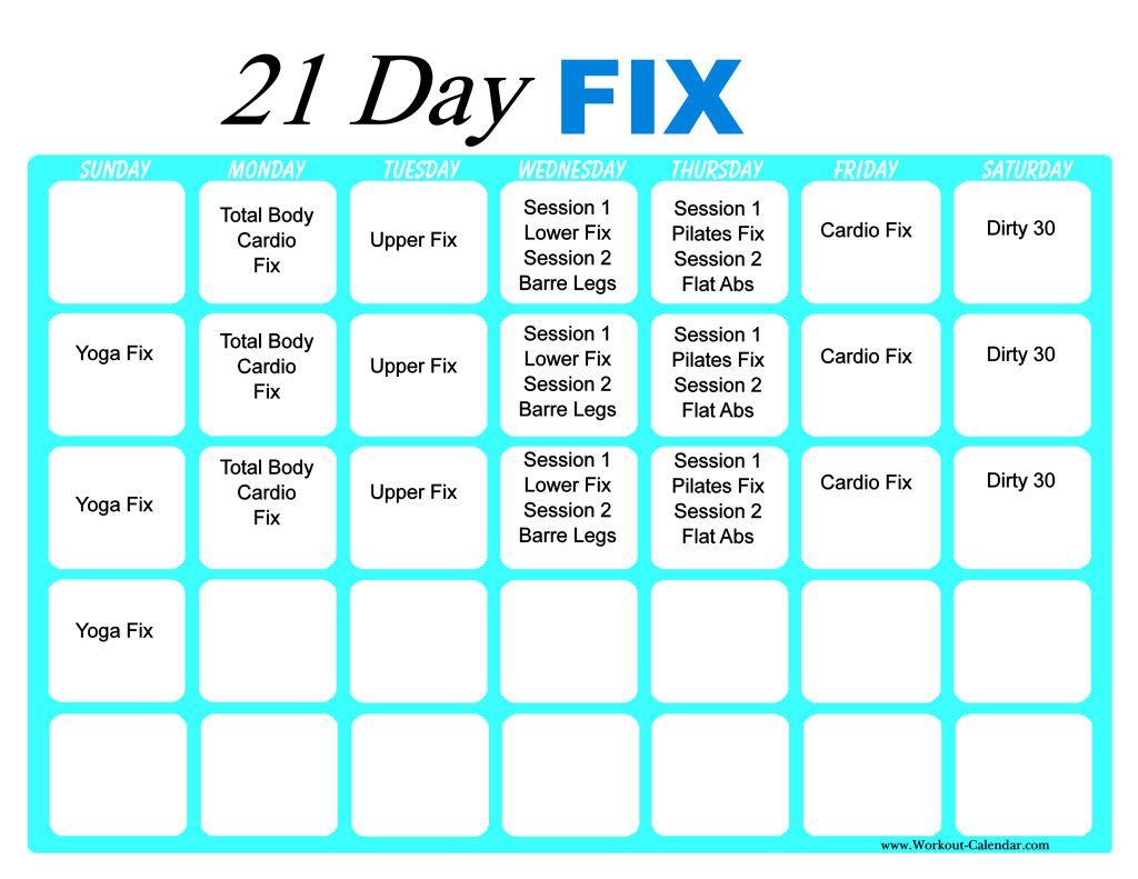 Pin On Akeem 21 Day Workout