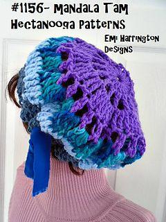 90f599390 1156YT- MANDALA TAM - free crochet pattern and video by Emi ...