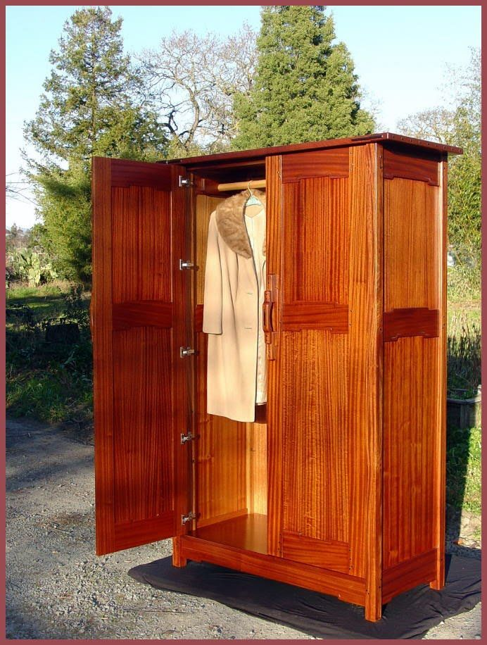Nice Greene And Greene Style Custom Armoire Wardrobe Or Entertainment Center  (692×916)