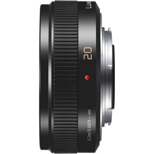 Panasonic Lumix G 20mm F 1 7 Ii Asph Lens Black Zwart Brandpuntsafstand Scherptediepte
