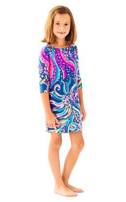 2105f1d9c13b UPF 50+ Girls Mini Sophie Dress Girls Sandals