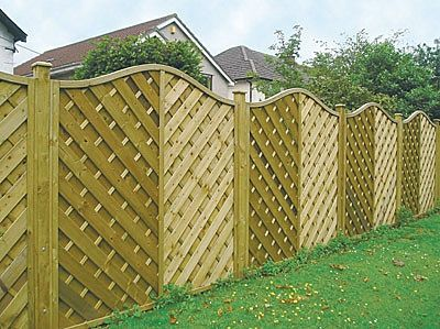 Different Types Of Yard Fences Fence Panels Designs Are Possible