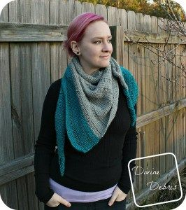 Luisa Asymmetrical Shawl premium crochet pattern - PatternConnection