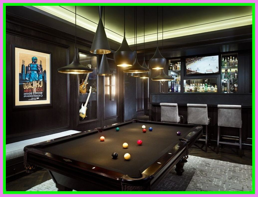 109 Reference Of Game Room Red Pool Table Toekomstig Huis Huis Camper Ideeën